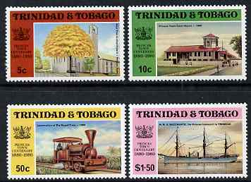 Trinidad & Tobago 1980 Centenary of Princes Town perf set of 4 unmounted mint, SG 555-58