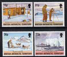 British Antarctic Territory 1994 50th Aniiv of Operation Tabarin set of 4 unmounted mint, SG 236-39