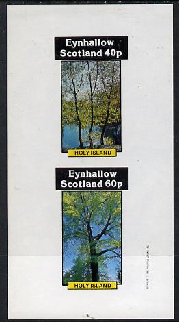 Eynhallow 1982 Trees imperf  set of 2 values (40p & 60p) unmounted mint