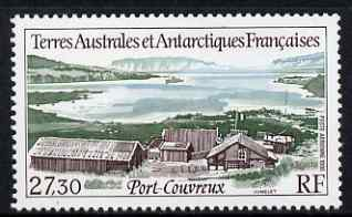 French Southern & Antarctic Territories 1996 Port-Couvreux Air 27f 30 unmounted mint, SG 360