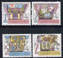 Czechoslovakia 1988 'Praga 88' Stamp Exn (6th issue) set of 4 unmounted mint, SG2929-32