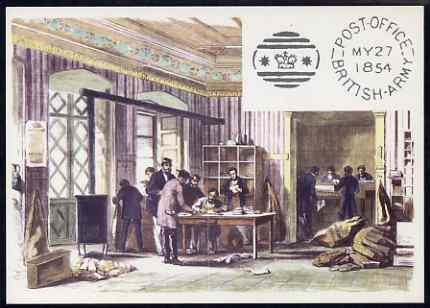 Postcard - British Army Post Office in Constantinople PPC produced by National Postal Museum unused and fine