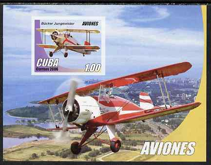 Cuba 2006 Aircraft imperf m/sheet unmounted mint SG MS4967