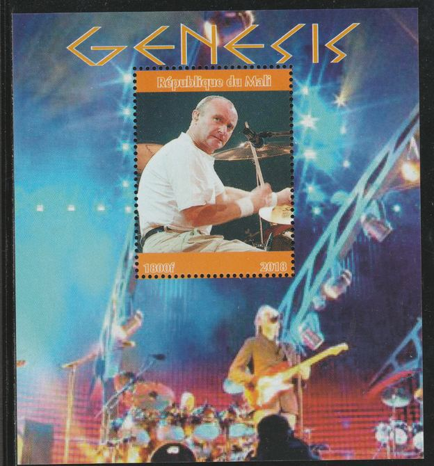 Mali 2018 Genesis perf souvenir sheet unmounted mint. Note this item is privately produced and is offered purely on its thematic appeal.