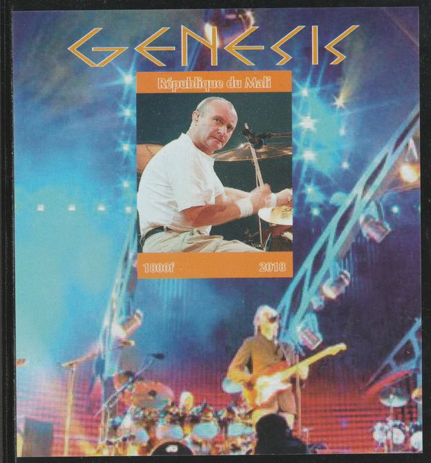 Mali 2018 Genesis imperf souvenir sheet unmounted mint. Note this item is privately produced and is offered purely on its thematic appeal.