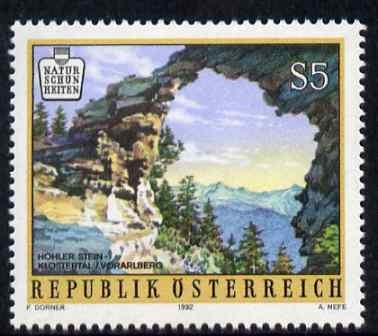 Austria 1992 Natural Beauty Spots 5s unmounted mint SG 2284, stamps on landscapes, stamps on tourism