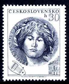Czechoslovakia 1953 Ema Destinnova (opera singer) 30h unmounted mint SG 797