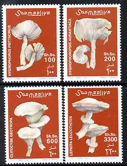 Somalia 2002 Fungi perf set of 4 unmounted mint. Note this item is privately produced and is offered purely on its thematic appeal Michel 962-5