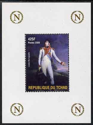 Chad 2009 Napoleon #7 Louis Bonaparte perf deluxe sheet unmounted mint
