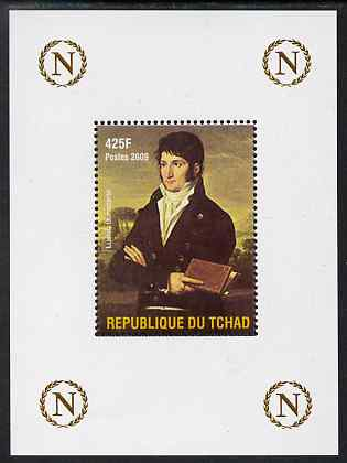 Chad 2009 Napoleon #8 Lucien Bonaparte perf deluxe sheet unmounted mint