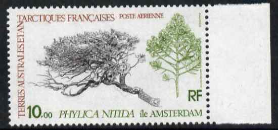 French Southern & Antarctic Territories 1980 Phylica nitida 10f unmounted mint SG 147