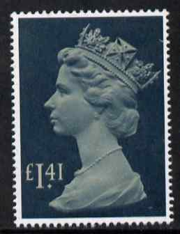 Great Britain 1977-87 Machin - Large Format \A31.41 unmounted mint SG 1026d, stamps on machins