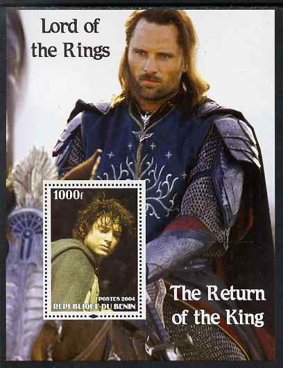 Benin 2004 Lord of the Rings - The Return of the King #2 perf s/sheet unmounted mint