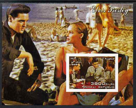 Somalia 2003 Elvis Presley imperf m/sheet (Scene from GI Blues) unmounted mint