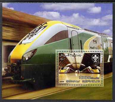 Somalia 2006 Railways perf m/sheet unmounted mint
