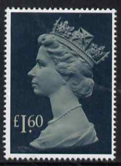 Great Britain 1977-87 Machin - Large Format \A31.60 unmounted mint SG 1026f