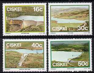 Ciskei 1989 Dams perf set of 4 unmounted mint SG 145-8