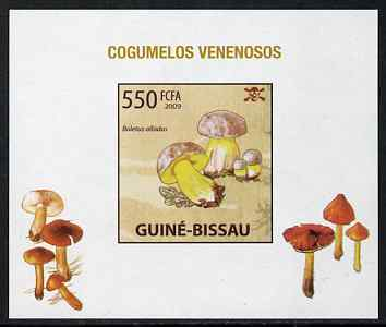Guinea - Bissau 2009 Poisonous Mushrooms #03 individual imperf deluxe sheet unmounted mint. Note this item is privately produced and is offered purely on its thematic appeal
