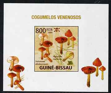 Guinea - Bissau 2009 Poisonous Mushrooms #04 individual imperf deluxe sheet unmounted mint. Note this item is privately produced and is offered purely on its thematic appeal