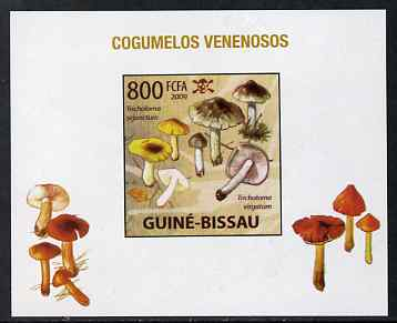 Guinea - Bissau 2009 Poisonous Mushrooms #05 individual imperf deluxe sheet unmounted mint. Note this item is privately produced and is offered purely on its thematic appeal