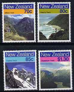 New Zealand 1988 Scenic Walking Trails perf set of 4 unmounted mint, SG 1469-72