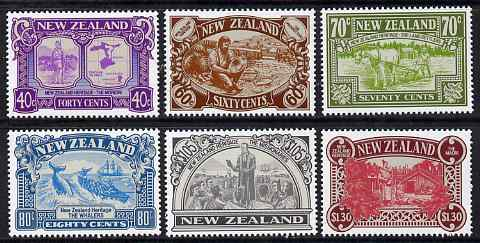 New Zealand 1989 NZ Heritage - 2nd issue - The People perf set of 6 unmounted mint, SG 1505-10