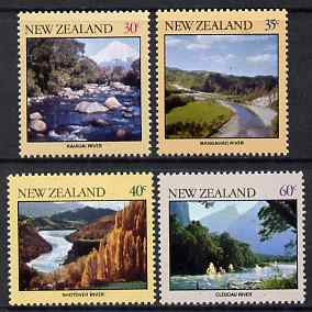 New Zealand 1981 River Scenes perf set of 4 unmounted mint, SG 1243-46