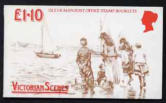 Booklet - Isle of Man 1987 Victorian Douglas �1.10 booklet (pictorial cover) complete and fine, SG SB17