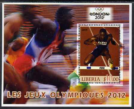 Liberia 2005 London Olympics (2012) perf m/sheet unmounted mint