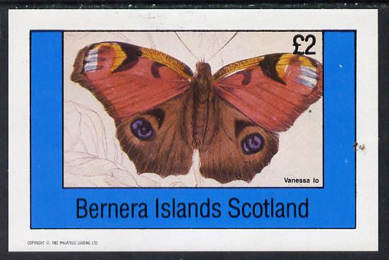 Bernera 1982 Butterflies (Vanessa Lo) imperf deluxe sheet (�2 value) unmounted mint