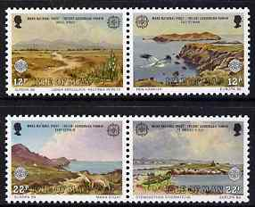 Isle of Man 1986 Europa - Nature and Environment Protection set of 4 unmounted mint, SG 317-20