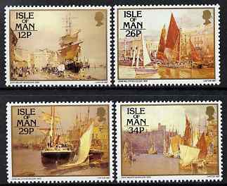 Isle of Man 1987 Paintings by John Miller Nicholson set of 4 unmounted mint, SG 340-43