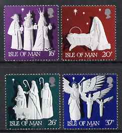 Isle of Man 1991 Christmas - Paper Sculptures set of 4 unmounted mint, SG 496-99