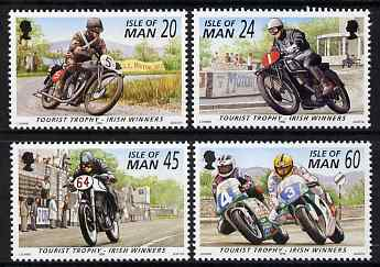 Isle of Man 1996 Tourist Trophy - Irish Winners set of 4 unmounted mint, SG 703-06