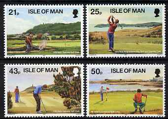 Isle of Man 1997 Golf set of 4, unmounted mint, SG 755-58