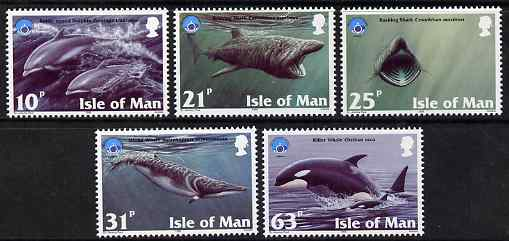 Isle of Man 1998 UNESCO International Year of the Ocean set of 5 unmounted mint, SG 798-802