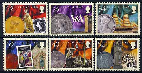 Isle of Man 2001 Death Centenary of Queen Victoria set of 6 unmounted mint, SG 917-22