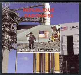 Gabon 2009 NASA Space Exploration #14 individual imperf deluxe sheet unmounted mint. Note this item is privately produced and is offered purely on its thematic appeal