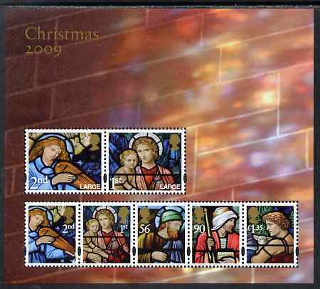 Great Britain 2009 Christmas perf m/sheet unmounted mint