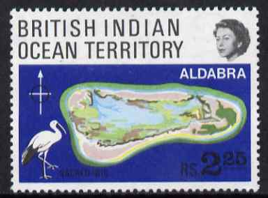 British Indian Ocean Territory 1969 Coral Atolls 2r25 unmounted mint, SG 31