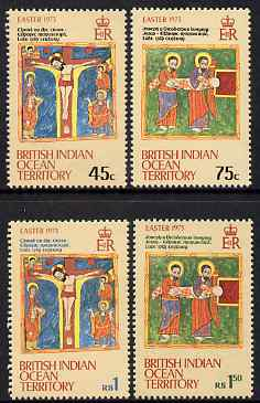 British Indian Ocean Territory 1973 Easter perf set of 4 unmounted mint, SG 47-50