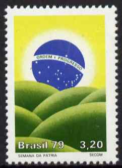 Brazil 1979 National Week 3cr20 unmounted mint SG 1778