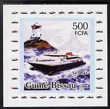 Guinea - Bissau 2006 Ships & Lighthouses #5 - Sea Cat individual imperf deluxe sheet unmounted mint. Note this item is privately produced and is offered purely on its thematic appeal