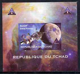 Chad 2009 Space - Orion Mission #1 individual imperf deluxe sheet unmounted mint. Note this item is privately produced and is offered purely on its thematic appeal
