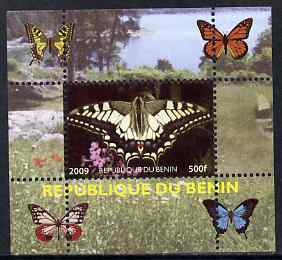 Benin 2009 Butterflies #1 individual perf deluxe sheet unmounted mint. Note this item is privately produced and is offered purely on its thematic appeal