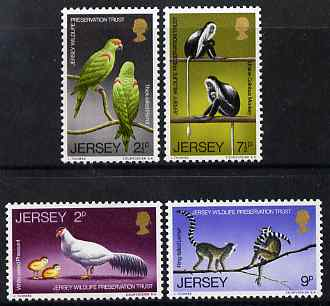 Jersey 1971 Wildlife (1st series) perf set of 4 unmounted mint, SG 57-60