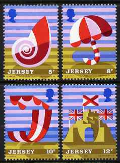 Jersey 1975 Jersey Tourism perf set of 4 unmounted mint, SG 124-127