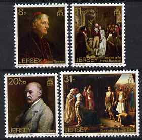Jersey 1983 Walter Ouless (artist) 50th Death Anniversary set of 4 unmounted mint, SG 320-23