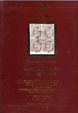 Auction Catalogue - Turkey, Middle East & Balkans - David Feldman 3-8 Nov 1996 - cat only