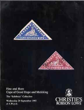Auction Catalogue - Cape of Good Hope - Christie